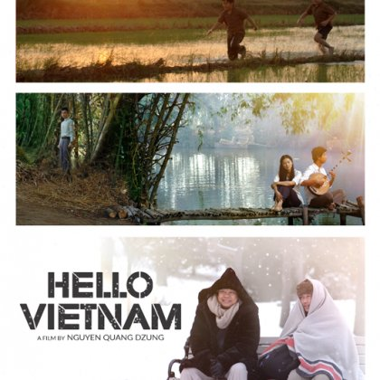 Hello vietnam Poster Offical